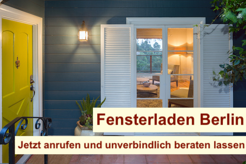 Fensterladen Berlin