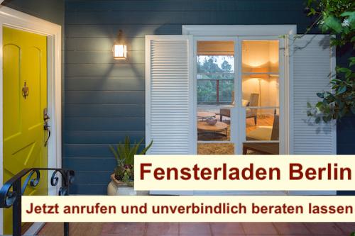 Fensterladen Berlin